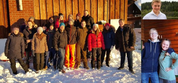 Bilder fra Nordmarks-tur Jan. 16