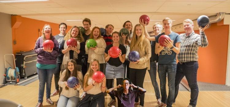 Se bilder fra tirsdags-bowling!
