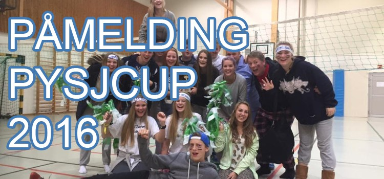 Påmelding til Pysjcup 2016 for Team Heggedal!
