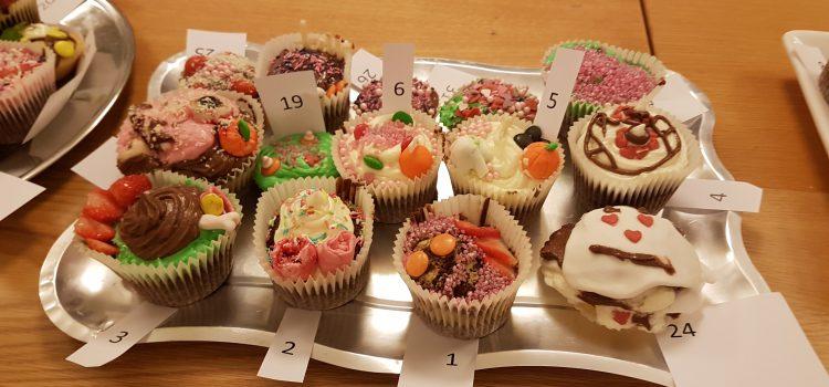 Vellykket Cup-cake-bakedag! (bilder)