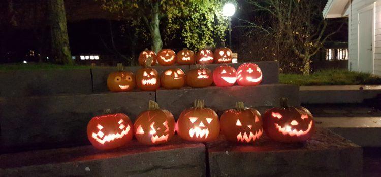 Bilder fra en (u)hyggelig halloween-kveld